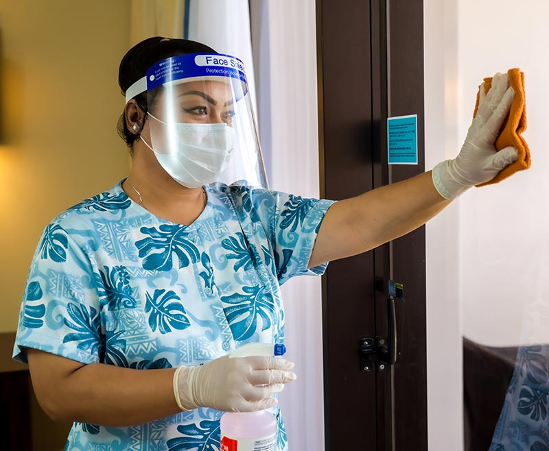 Specific sanitizing consideration