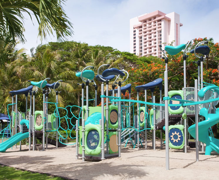 Kids Playground at Pacific Islands Club Guam