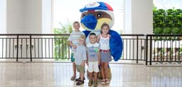 Pacific Islands Club Guam Mascot Inspires Island Preservatio