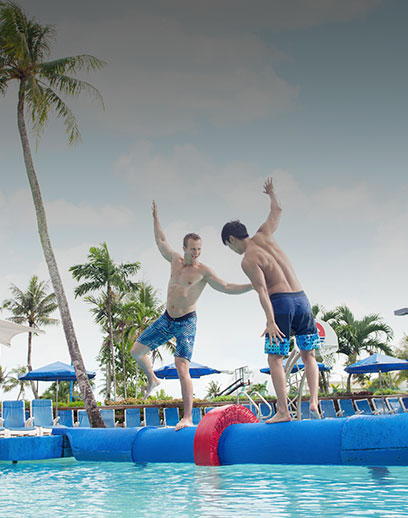 Fun Activities at Pacific Island Clubs