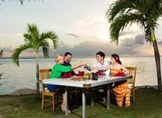 Pacific Island Clubs Restaurant Beach Side BBQ