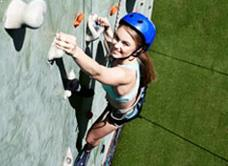 Pacific Island Clubs Wall Climbing