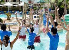Pacific Island Clubs Water Basketball