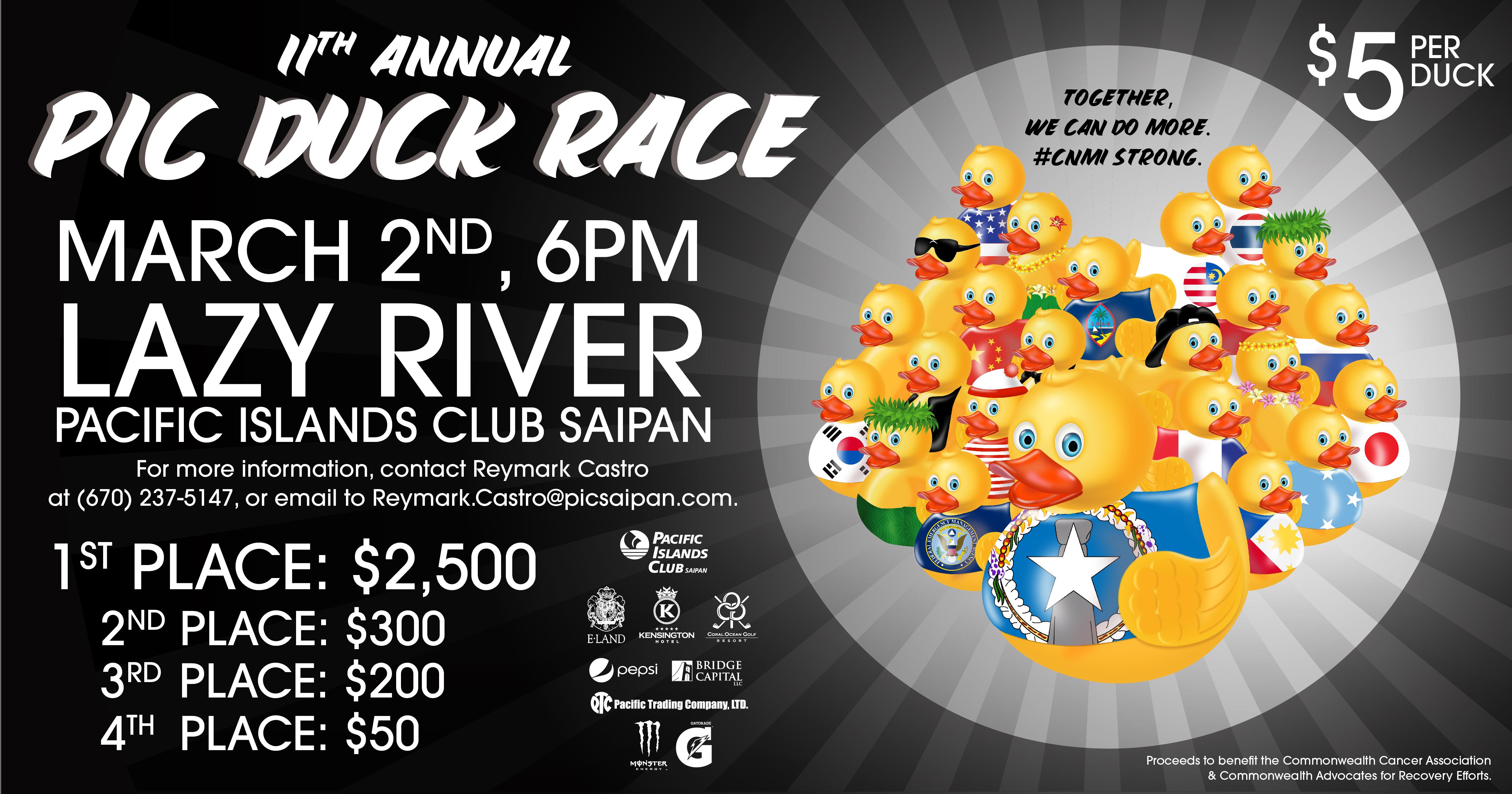 PIC Duck Race