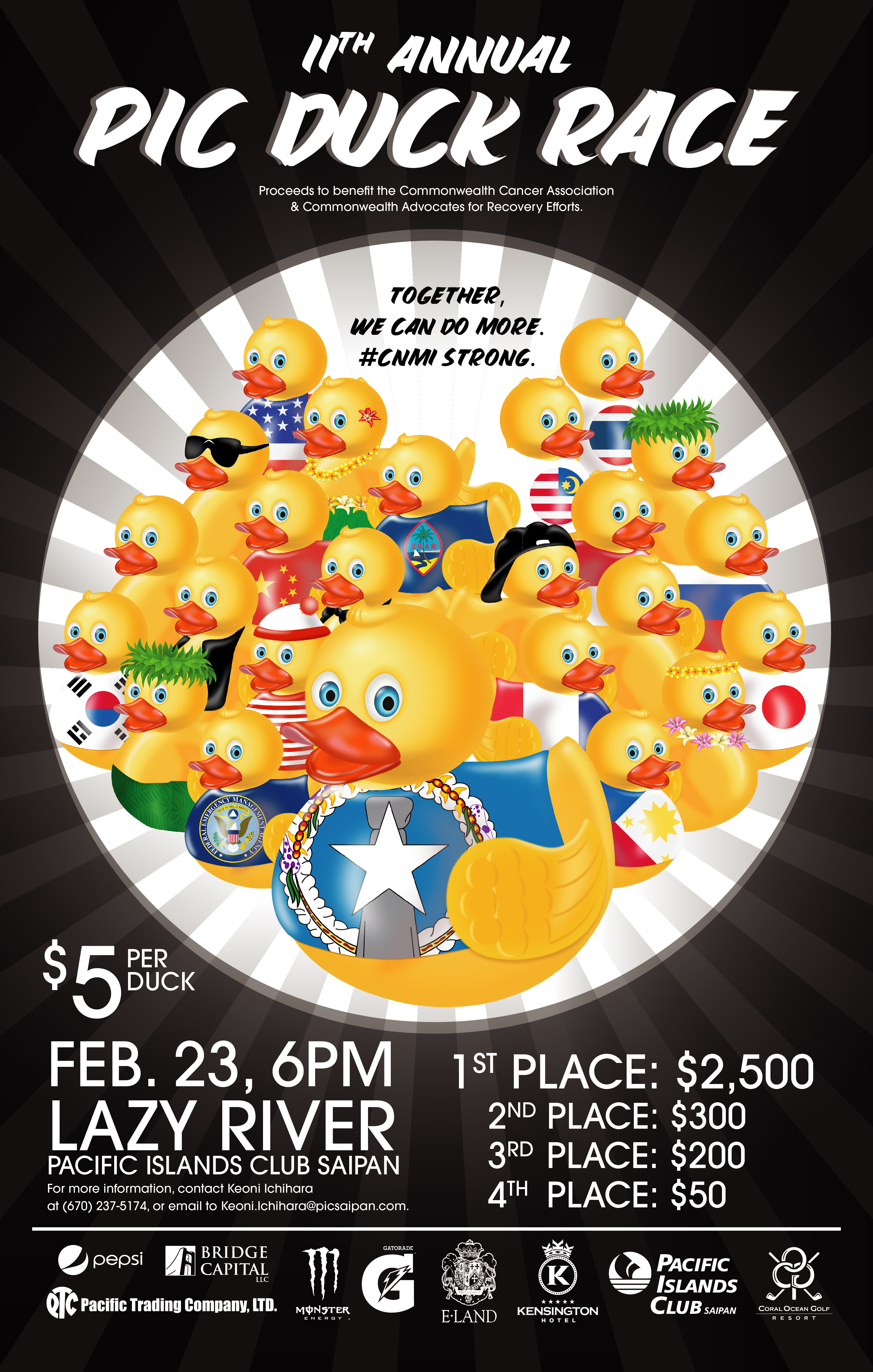 PIC Duck Race