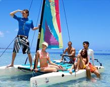 Beautiful Beach and Pools at Pacific Island Club Saipan