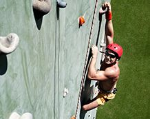 Climbing Wall at Pacific Island Club Saipan